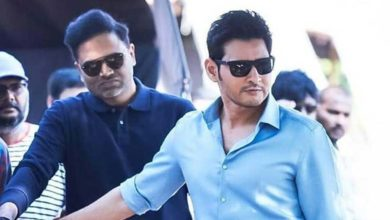 Photo of Mahesh Babu and Vamsi collaborating for a net series