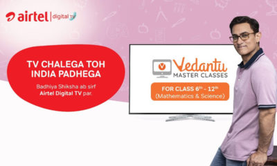 Airtel Digital TV has launched two channels for sixth to twelfth grade students