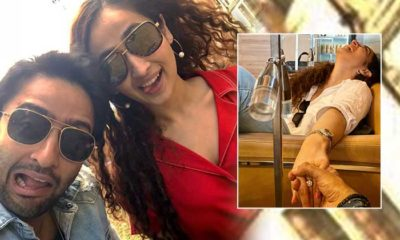 Are Shaheer Sheikh and Ruchikaa Kapoor engaged? Check the actor's Instagram post | Bollywood Bubble