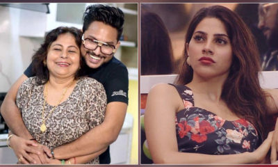 'Bigg Boss 14': Jaan Kumar Sanu's mother sent a Diwali gift for Nikki Tamboli but shockingly stopped it mid-way | Bollywood Bubble
