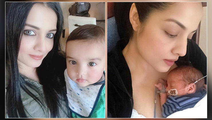 """Celina Jaitly opens up about losing her son in a heartbreaking note; says, """"We went through immense heartache""""   Bollywood Bubble"""