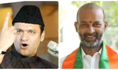 GHMC polls: After verbal duel over Narsimha Rao, Akbaruddin Owaisi and Telangana BJP president booked