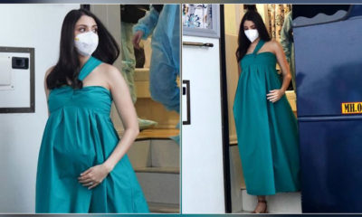 Mom-to-be Anushka Sharma steps out in style for an ad shoot in Mumbai- view pics | Bollywood Bubble