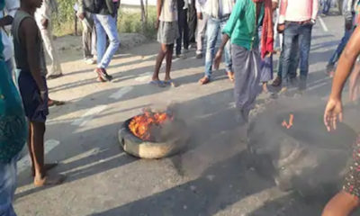 RJD workers protest against Bihar election results, indulge in arson in a district where Mahagathbandhan won 5 out of 7 seats