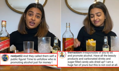 """Radhika Apte gets brutally bashed for promoting alcohol; trolls call her irresponsible & say, """"Time to unfollow""""   Bollywood Bubble"""