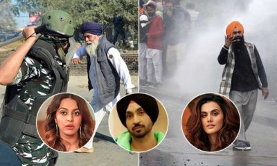 Taapsee Pannu, Swara Bhasker, Sonu Sood & Diljit Dosanjh react to farmers' protest | Bollywood Bubble
