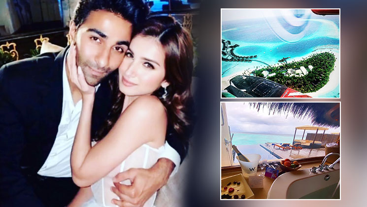 Tara Sutaria is holidaying with beau Aadar Jain in Maldives; these pics are proof   Bollywood Bubble