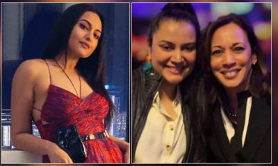 This is how Sonakshi Sinha's cousin is associated to the US Vice President Kamala Harris | Bollywood Bubble