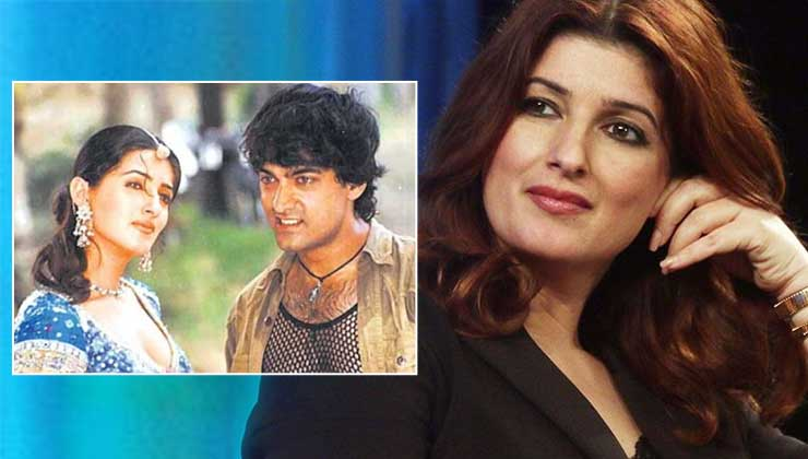 """Twinkle Khanna hilariously trolls her film Mela; says, """"It has certainly left a mark or a scar, whichever way you look at it"""" 
