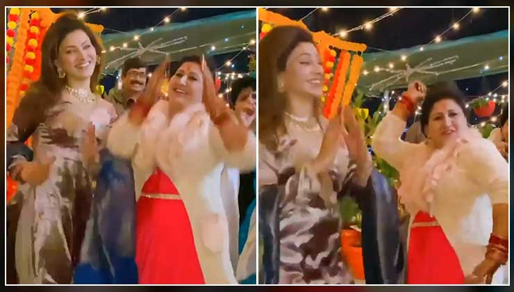 Video of Urvashi Rautela and her mother dancing to Akshay Kumar's 'Burjkhalifa' song on Diwali is unmissable | Bollywood Bubble