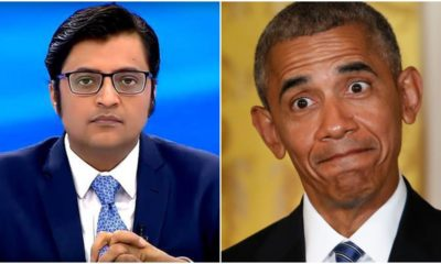 Watch: Arnab Goswami wonders if Congress will file FIRs against Obama and send him to Taloja jail for criticising Rahul baba